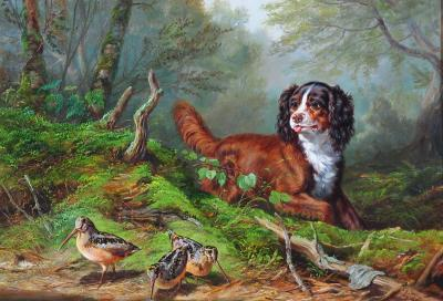 Arthur Fitzwilliam Tait The Intruder c 1864