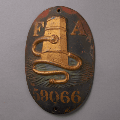 Firemark of the Fire Association Company of Philadelphia Issue of 1869