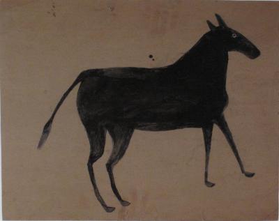 Bill Traylor Mule