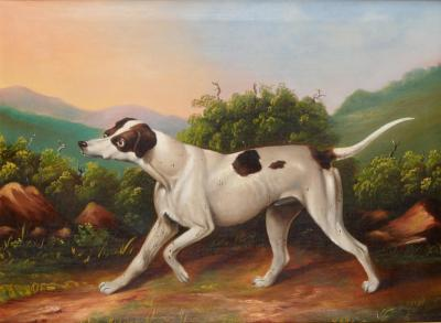 Portrait of a Hound c 1840