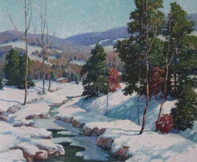 George Jensen Winter Landscape
