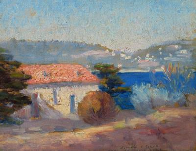 William Posey Silva A Blue Day France c 1923