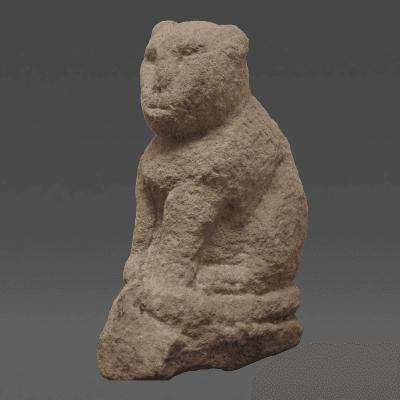 Sandstone Cat