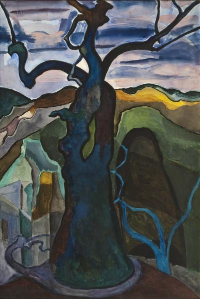 Joseph Stella Tree Form