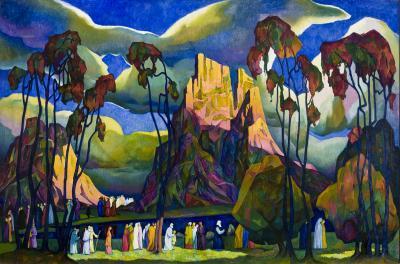 William Samuel Schwartz The Pioneers c 1924