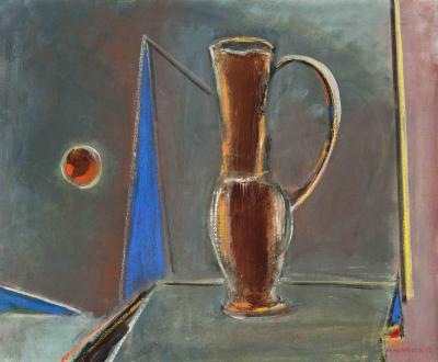Max Weber The Brown Pitcher Max Weber 1953