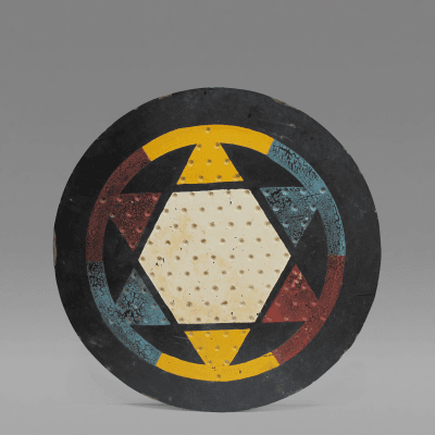 Chinese Checkers Gameboard 1930s 1940s