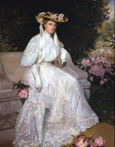 Hermann Dudley Murphy Portrait of Mrs Sarah Skinner