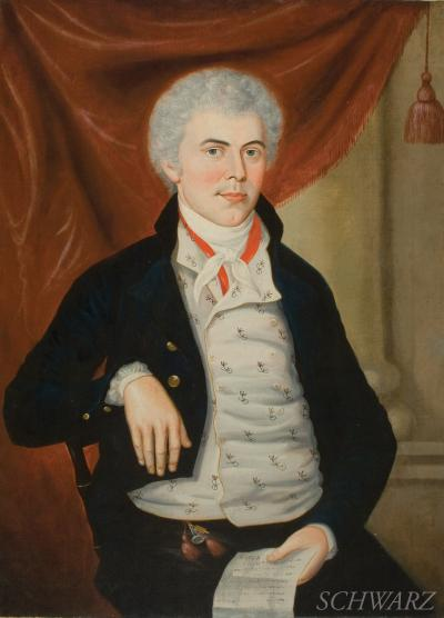 Charles Peale Polk Portrait of Edgar Patterson