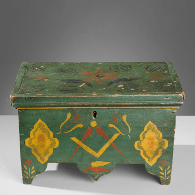 Folk Art Boxes & Baskets