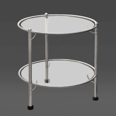 Warren McArthur Two Tiered 1930s Table