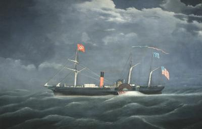 James Bard BLACK WARRIOR at Sea