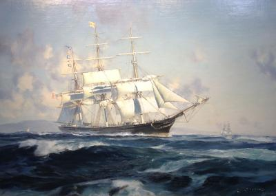 John Stobart Ship N B PALMER off the Golden Gate
