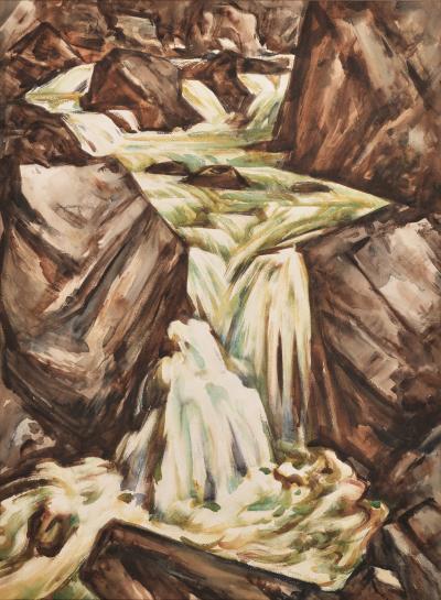 Howard Norton Cook Waterfall