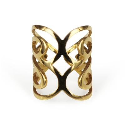 Poiray Paris Poiray Gold Cuff Ring