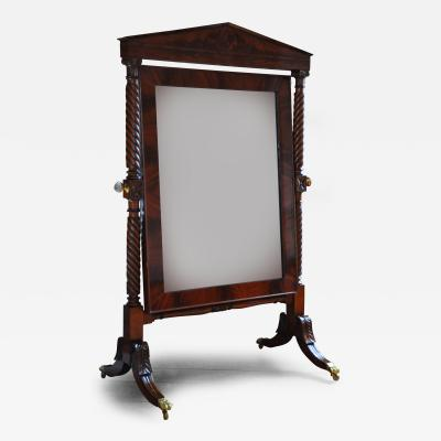 A Classical Cheval Glass
