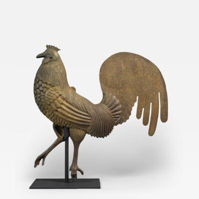 Rooster Weathervane c 1875 1885