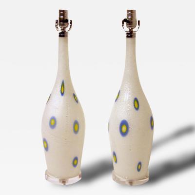 Giulio Radi Rare Pair of Lamps by Giulio Radi for A V E M