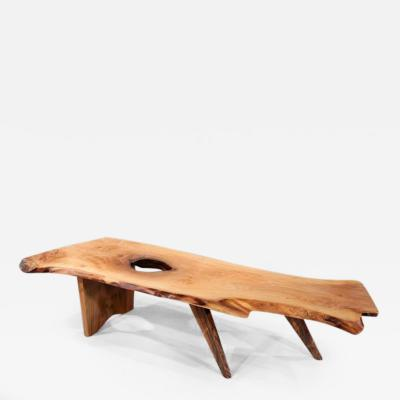 George Nakashima Slab II Coffee Table 1962