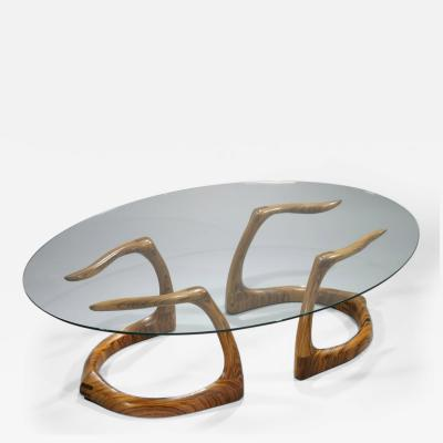 David Ebner Rare and Early Sternum Coffee Table 1980