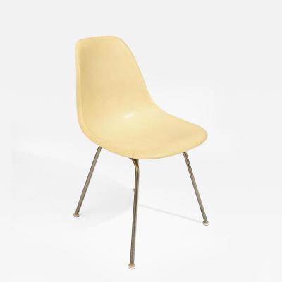 Charles Ormond Eames Pair of Eames Fiberglass Side Chairs for Herman Miller c 1957