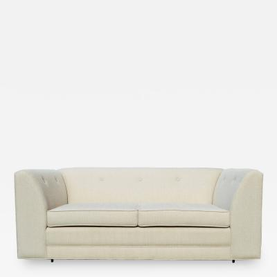Clean Lines Mid Century Loveseat