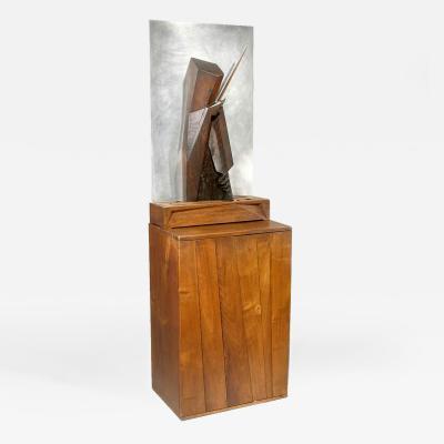 Wharton Esherick Pizzicato With Light Box and Cabinet 1931