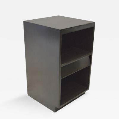 Russel Wright Minimalist Ebonized Night Stand