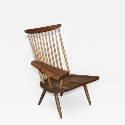George Nakashima New Lounge Chair with Writing Arm