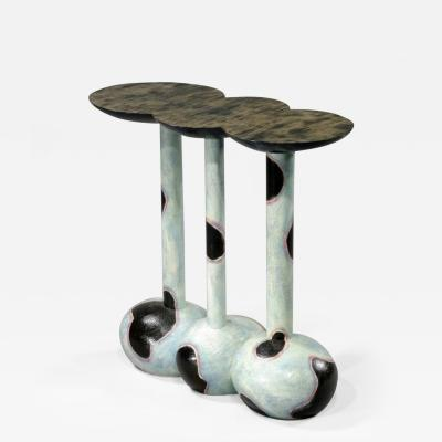 Wendell Keith Castle Wendell Castle Donut End Table 1988