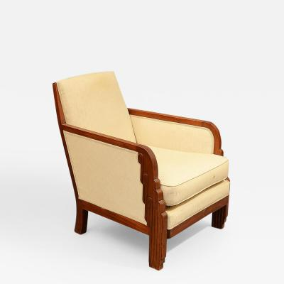 Maurice Dufr ne Armchair by Maurice Dufrene c 1934