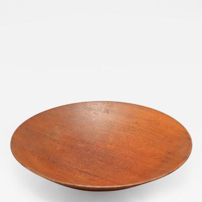 James Prestini Turned plate by James Prestini
