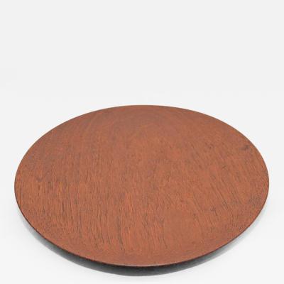 Arthur Espenet Carpenter Turned plate by Espenet