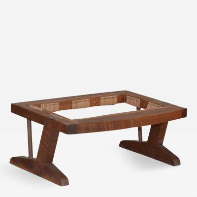Conoid Footstool in the style of George Nakashima