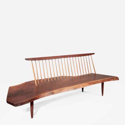 George Nakashima Conoid Bench 1966