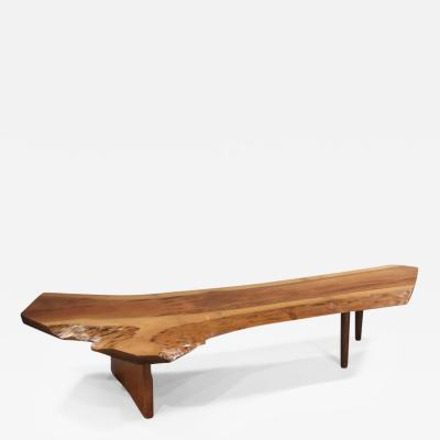 George Nakashima R Bench Coffee Table 1987