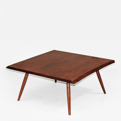 George Nakashima Square Coffee Table