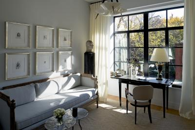 Patrick McGrath Design with furnishings supplied by Maison Gerard and others.