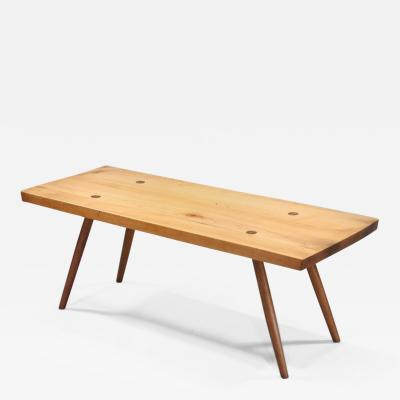 George Nakashima Early Plank Coffee Table 1949