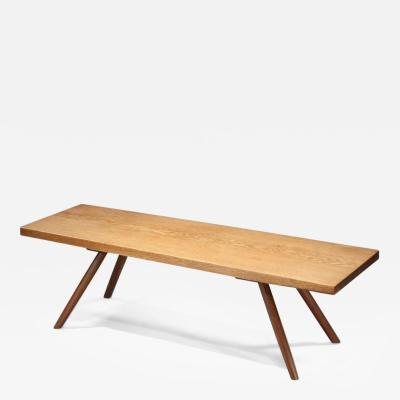 George Nakashima Early Plank Coffee Table 1945