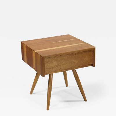 George Nakashima End Table with Drawer 1956