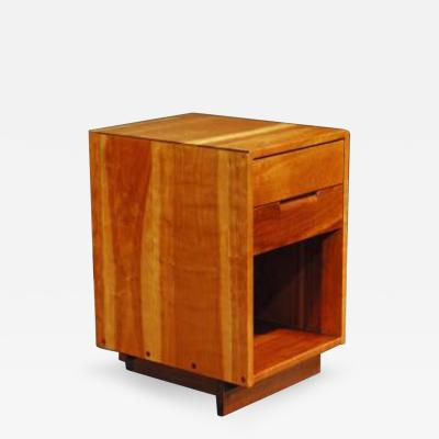 George Nakashima 2 Drawer Night End Table George Nakashima 1956