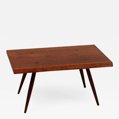 George Nakashima Slab End Table