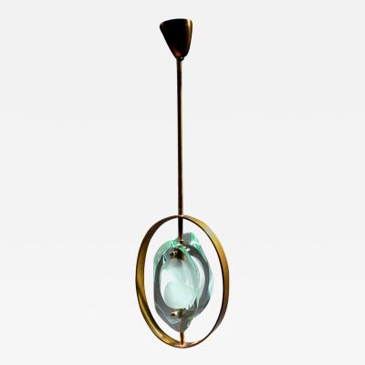 Max Ingrand Pendant Ceiling Light No 1933 by Max Ingrand for Fontana Arte