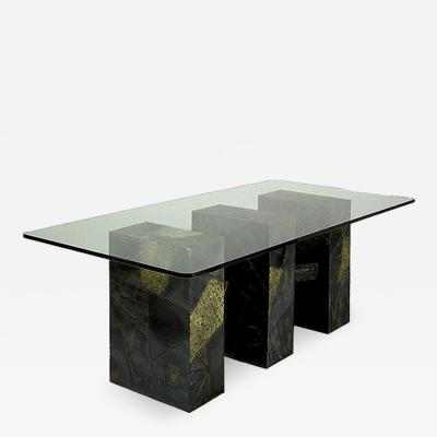 Paul Evans Paul Evans Sculpted Bronze Dining Table