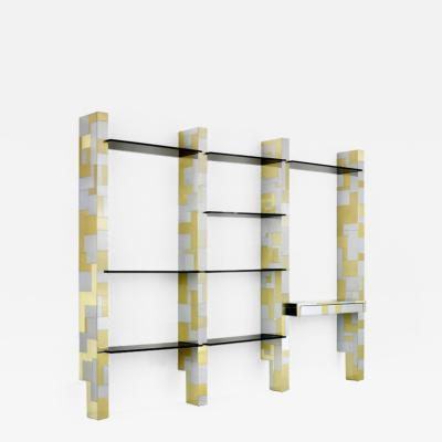 Paul Evans Cityscape Wall Unit with Display Shelf Paul Evans