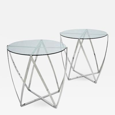 John Vesey Pair of Side Tables by John Vesey