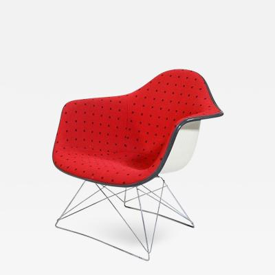 Charles Ray Eames Eames LAR Chair w Cats Cradle base Alexander Girard Fabric