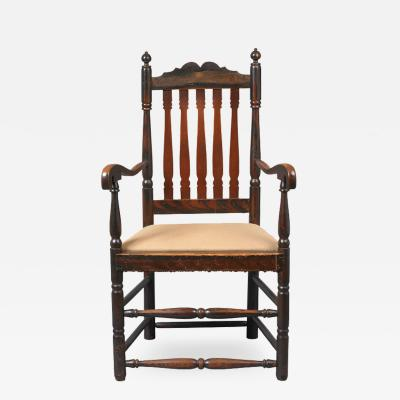 Queen Anne Arm Chair c 1730 1750