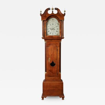 Aaron Willard Chippendale Tall Case Clock c 1775 1785